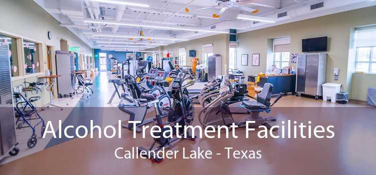 Alcohol Treatment Facilities Callender Lake - Texas