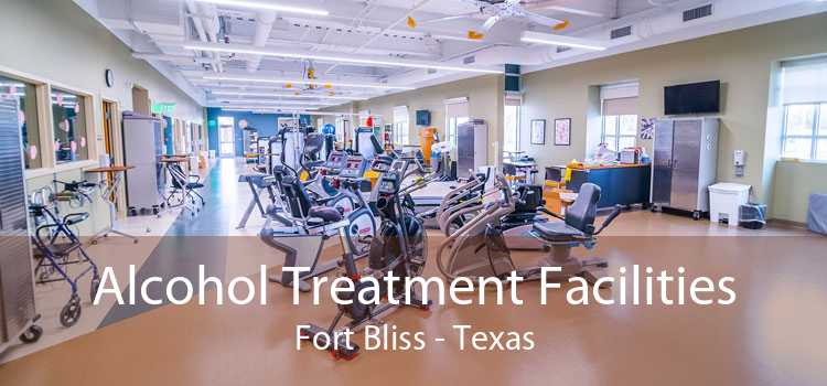 Alcohol Treatment Facilities Fort Bliss - Texas