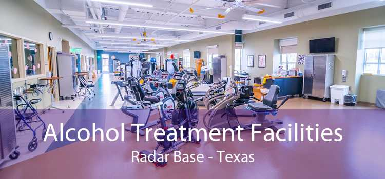 Alcohol Treatment Facilities Radar Base - Texas