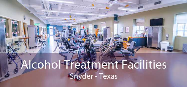 Alcohol Treatment Facilities Snyder - Texas