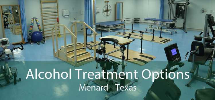 Alcohol Treatment Options Menard - Texas